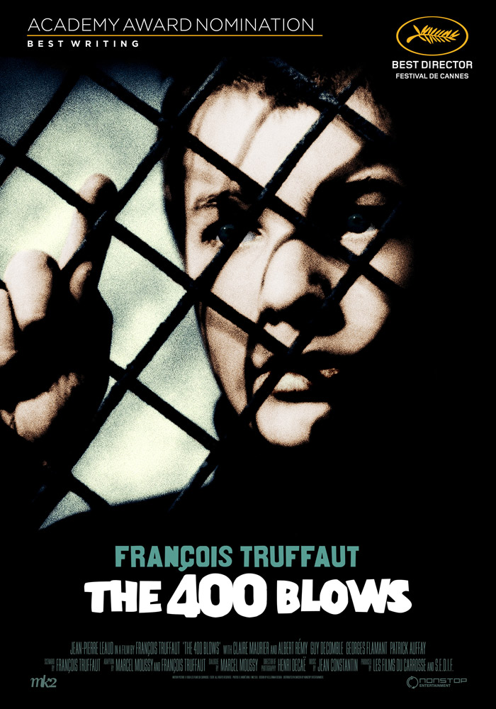 The 400 Blows (1959) Francois Truffaut theatrical onesheet eng