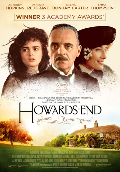 Howards End (1992) James Ivory theatrical onesheet eng