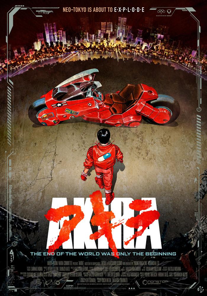 Akira (1988) Katsuhiro Otomo theatrical onesheet v1.0 eng