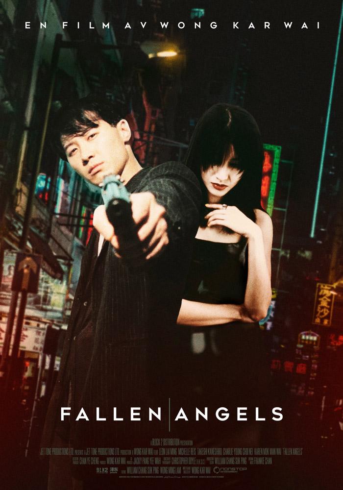Fallen Angels (1995) Wong Kar Wai theatrical onesheet swe