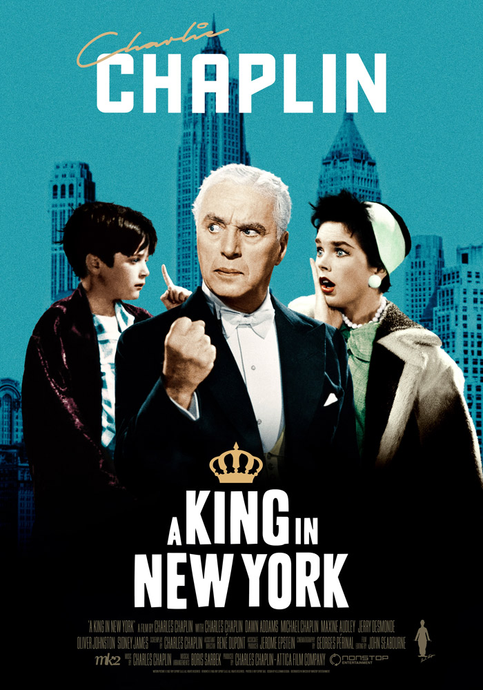A King in New York (1957) Charles Chaplin onesheet eng